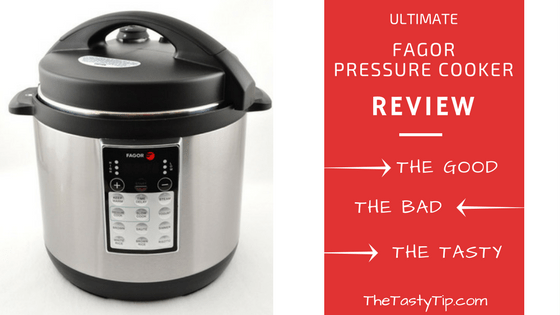 fagor pressure cooker and blog post title