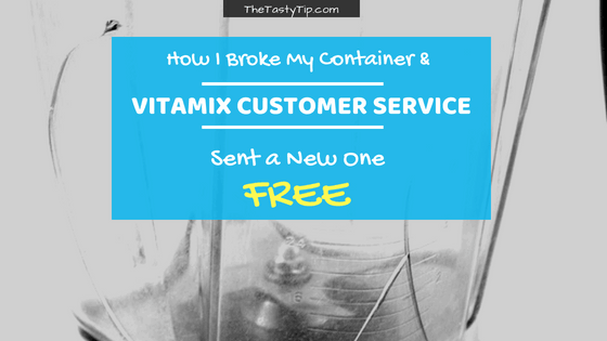 Vitamix customer service review post title