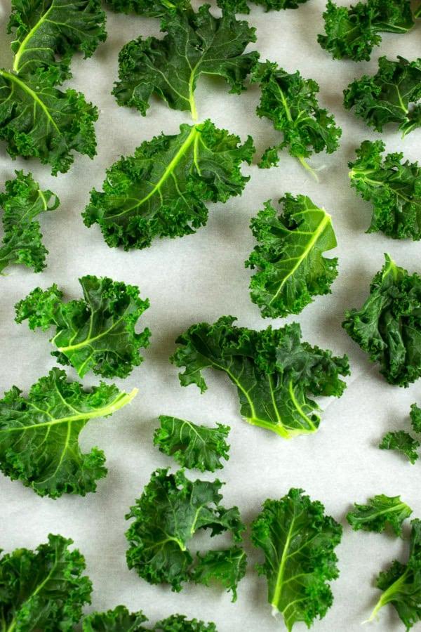 frozen kale pieces