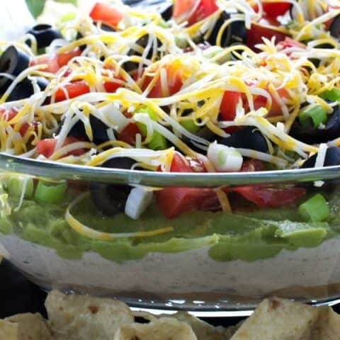 The Last 7 Layer Dip Recipe You Will Ever Need