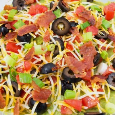 This is Why You Don't Need a 7 Layer Dip Recipe.  Try Last 7 Layer Dip Recipe You Will Ever Need