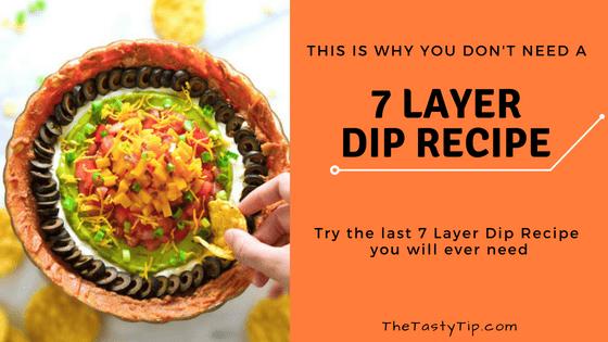 7 layer dip recipe title