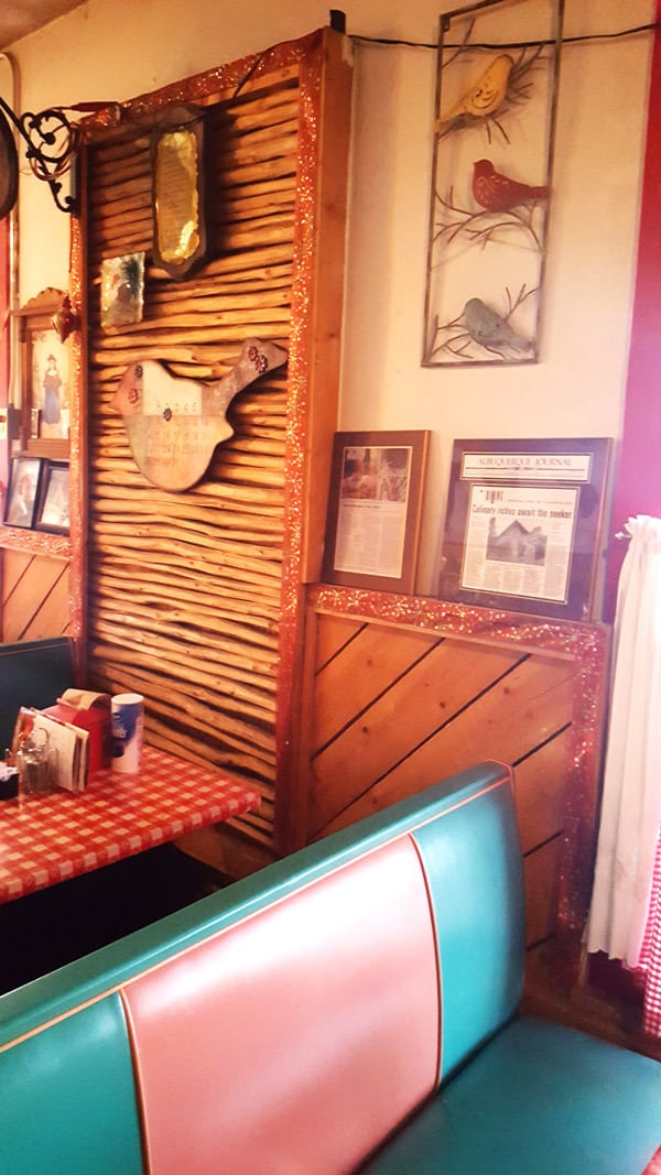 decor in Cecilia's Cafe