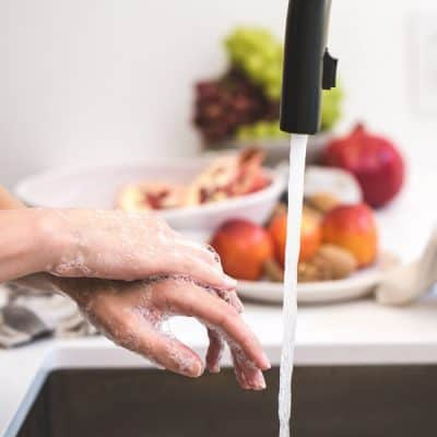 hand washing for food safety