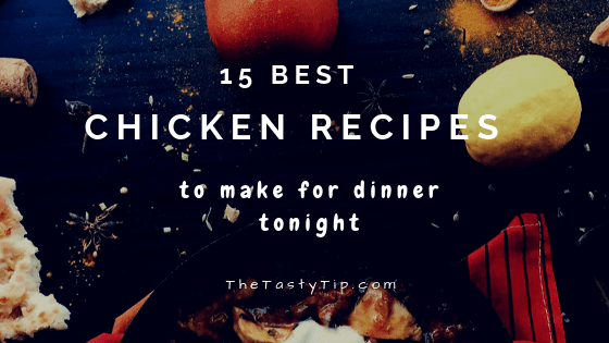 best chicken recipes blog title