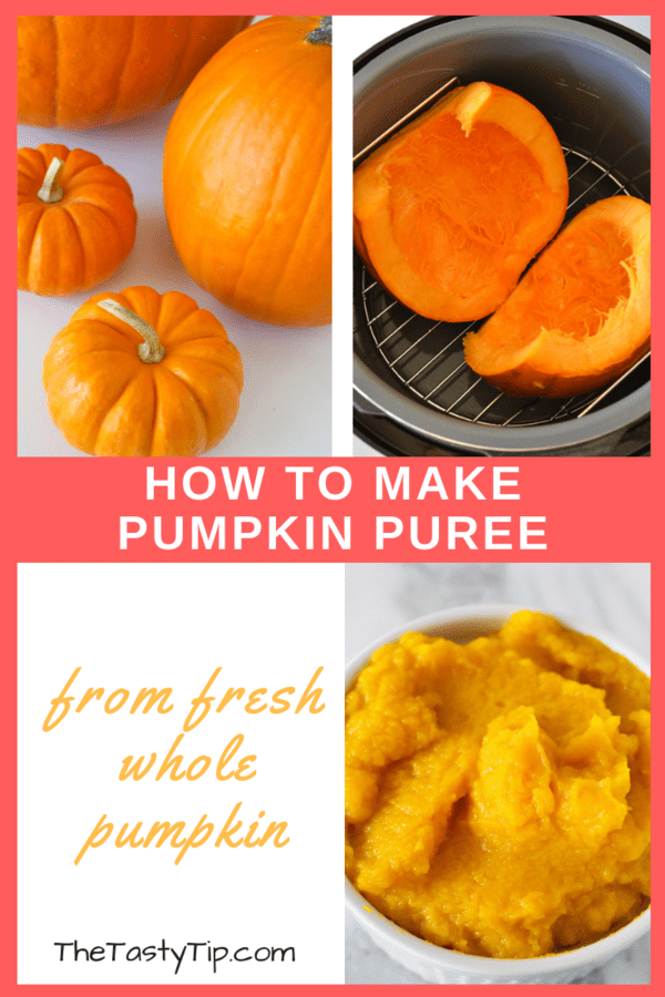 how to make pumpkin puree title