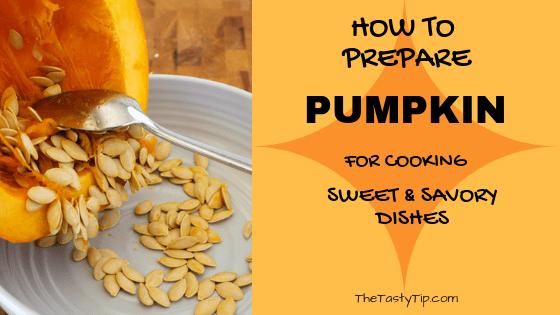 prepare pumpkin title