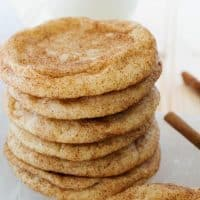 World's BEST Snickerdoodle Cookies