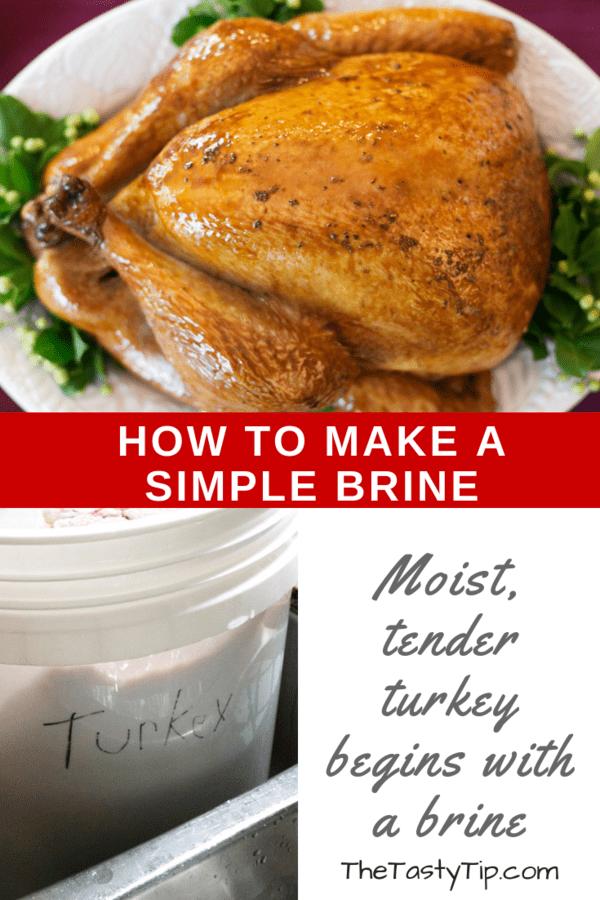 simple turkey brine title