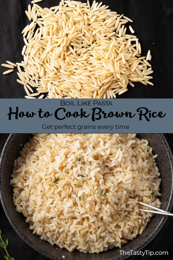 how to cook brown rice title