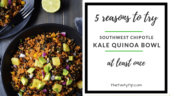 title for southwest chipotle kale quinoa power bowl