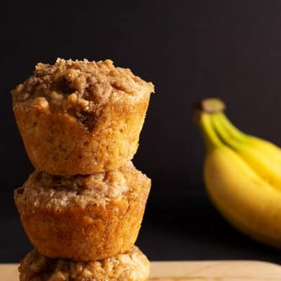 Amazing Banana Muffin Recipe Exploding with Banana Flavor