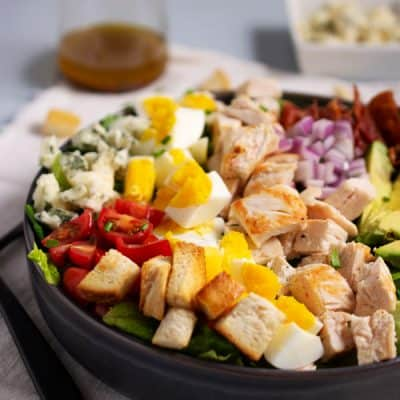 Easy Cobb Salad Recipe – Make the Ultimate Full Meal Salad