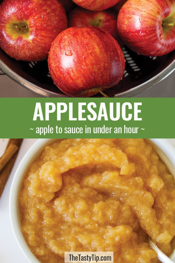 apples and applesauce