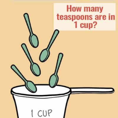 How Many Teaspoons in One Cup?
