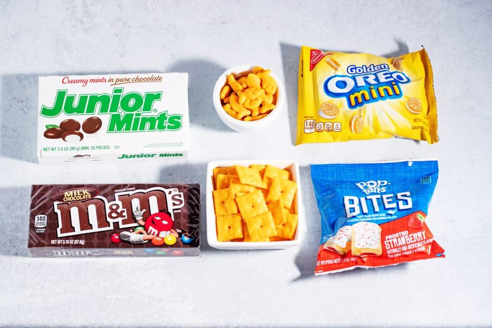 sweet bite-sized snacks