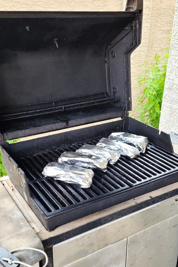 cooking frozen tamales on gas grill