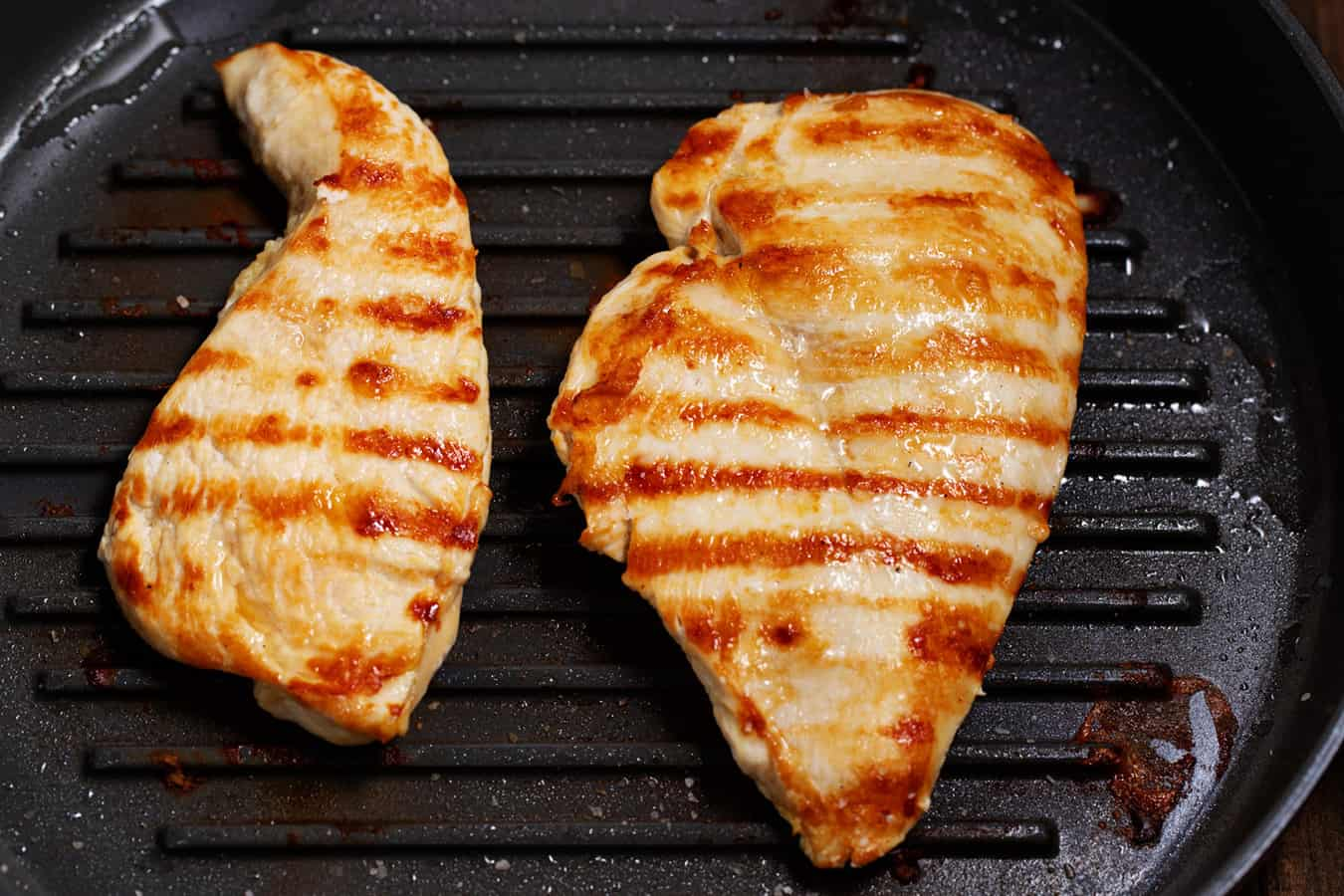 2 pieces of grilled chicken