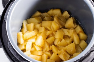 cooked apples in instant pot