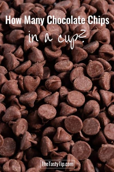 lots of chocolate chips