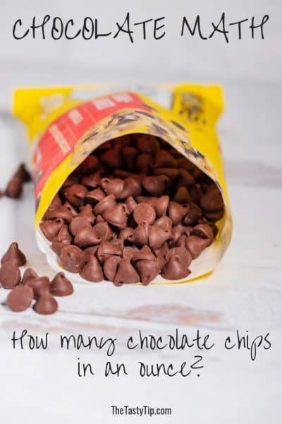 bag of chocolate chip morsels