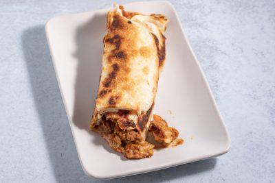 burrito reheated on the stove